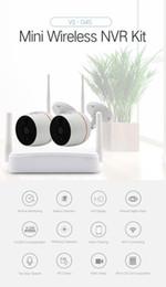 YobangSecurity домашнее видео аудио открытый IP-камера 1080P Wifi мини 4ch NVR комплект беспроводной системы видеонаблюдения камеры видеонаблюдения