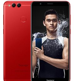 Red coloR mobiles online shopping - Huawei Honor X Global Firmware GB GB GB Octa Core Dual Rear Camera inch Android G LTE Unlocked Mobile Phones
