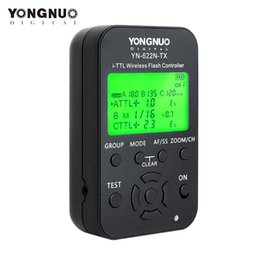 $enCountryForm.capitalKeyWord Australia - wholesale YN-622N-TX YN622N-TX YN 622N TX TTL Wireless Flash Controller Wireless Flash Trigger Transceiver For Nikon DSLR Camera