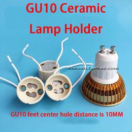 7CM 10CM 15CM 20CM 30CM GU10 Pure White Ceramic Lamp Holder Weaving Wire Silicone Wire Optional on Sale