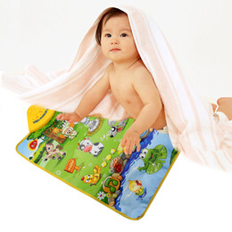 $enCountryForm.capitalKeyWord UK - Baby Musical Carpet Cute Baby Infant Developmental Crawling Mat Baby Play Mat Electronic Kids Early Educational Learning Toys