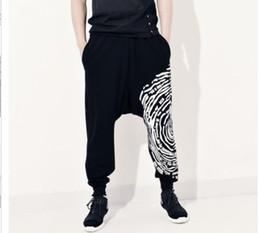 fec35ca2219f Original design Hip hop pants mens Hanging crotch trousers men harem pants  male casual pants spring summer take foot