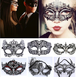 $enCountryForm.capitalKeyWord NZ - 2018 Adult Metal Filigree Costume Masquerade Mask Venetian Ball Prom Event Mardi Gras Rhinestone Wedding Party Mask