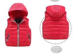 China Free shipping new Baby girls boys vest children's clothes kids warm jacket boys down coat jackets outerwear retail cheap boy girls lycra clothing suppliers