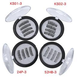 $enCountryForm.capitalKeyWord Canada - Magnetic eyelashes 3D false eyelashes with 3 magnets Handmade cilios wholesale Eye Lash Extension with box 7 Style choose