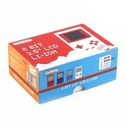 Chinese  CoolBaby RS-6 Portable Retro Mini Handheld Game Console 8 bit Color LCD Game Player For FC Game free DHL manufacturers