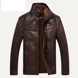 Xingdeng pu marca alta jaqueta de couro dos homens casacos plus 5xl qualidade outerwear homens de negócios de inverno da pele do falso top masculino roupas de lã venda por atacado