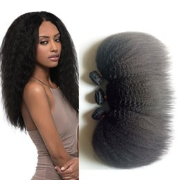 long 12 inches straight weave 2019 - Black woman popular Mongolian Brazilian virgin hair 8-26inch Kinky Straight Double weft Mongolian Indian remy Hair exten