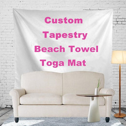 Customized promotion online shopping - Free customized Polyester Bohemian Tapestry Styles150 cm Mandala Beach Towels Promotion Gift Advertisement Indian Wall Hanging R486