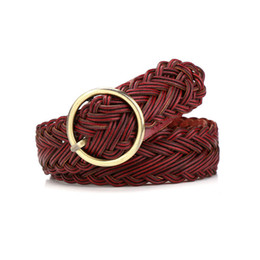 Fashion Women Belts Rope For Dresses Tassel Braided Waistband Belt Twist Weaving Knot Decorated Belt Brown Black Cotton String Durable Service Apparel Accessories