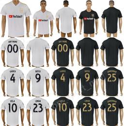 d00eed891 LAFC Carlos Vela 4 Omar Gaber Soccer Jersey Men 2018 2019 Los Angeles FC  Football Shirt Kits 9 ROSSI 10 VELA 23 CIMAN 25 Walker Zimmerman