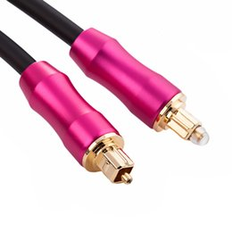 Blu Ray Audio Australia - Digital Optical Audio Cable Toslink SPDIF Coaxial Cable For Amplifiers Blu-Ray Player Xbox 360 Soundbar Fiber Cable YS-56
