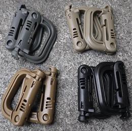 Discount water bottle holder belt clip - Practical Outdoor D Shape Buckle Hook Water Bottle Holder Clip Climb Belt Backpack Hanger Camp New
