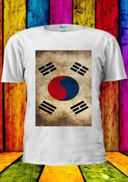 T Shirt Woman Korea Australia - Korean Flag South Korea Seoul T-shirt Vest Tank Top Men Women Unisex 1428