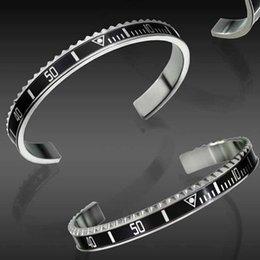 Braccialetti del partito di modo dei monili degli uomini dell'acciaio inossidabile di alta qualità degli orologi di modo di lusso del braccialetto per gli uomini delle donne con la scatola al minuto in Offerta