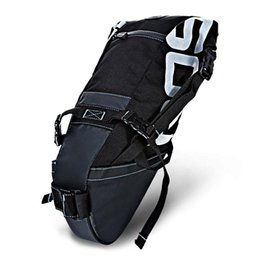 $enCountryForm.capitalKeyWord NZ - ROSWHEEL Water-resistant 8L Bicycle Tail Bag Saddle Tube Pouch Cycling Bicycle Saddle Tail Rear Seat Waterproof Storage Bag Bike Accessories
