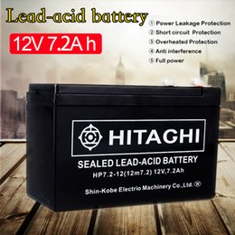 Chinese  12 Volt 7Ah Rechargeable Sealed Lead Acid Battery Terminal 12V 7Amp for Access Power Supply Children's Electric Car Battery manufacturers