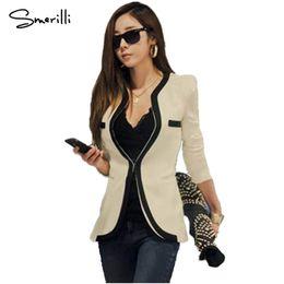 $enCountryForm.capitalKeyWord Canada - 2018 New Arrival Autumn Women Blazers and Jackets Work Office Lady Suit Slim White Black Blazer Coat For Female Striped Blazers
