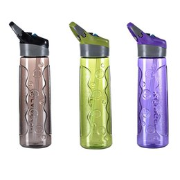 water bottles new straws 2019 - 2018 NEW MP-W05 Sports Water Cup Portable Bicycle Water Bottle Student Special Straw Cup Outdoor Sports Plastic cheap wa