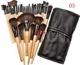 $enCountryForm.capitalKeyWord NZ - 32pcs Professional Makeup Brushes Set Make Up Powder Brush Pinceaux maquillage Beauty Cosmetic Tools Kit Eyeshadow Lip Brush Bag