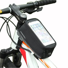 "$enCountryForm.capitalKeyWord Canada - Cycling Bag Bicycle Bag Bike Mobile Phone Front Frame Top Tube Storage Pannier Case Holder for 5.7"" Screen Bike Accessories"
