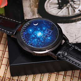 Korean cool girls online shopping - Korean version of the trend of personalized intelligence simple LED luminous touch screen watch cool boys and girls star lovers table