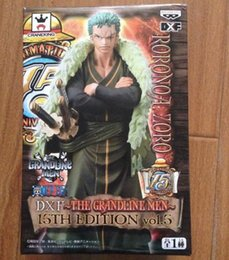 Doll zoro online shopping - NEW hot cm One piece th Roronoa Zoro action figure toys doll collection Christmas toy with box