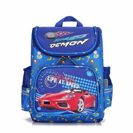 $enCountryForm.capitalKeyWord Canada - Orthopedic Schoolbags boy cartoon car Backpack Waterproof Nylon Kids School Bag Kindergarten Children Primary School Backpack