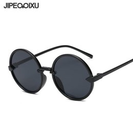 7ae78f4f3fb3 JIPEMIXU Men Round Sunglasses Vintage Brand Mirror Sun Glasses New Women  Arrow Decoration Dazzling Color Eyewear UV400