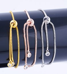 $enCountryForm.capitalKeyWord Australia - Handmade Jewelry DIY Accessories Bracel Lovely Trendy Copper Metal Zircon Kids Boy & Girl Figure Charms Components Bracelets Fits Wholesale