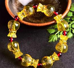 indian jade ring 2019 - Second Generation Honey Wax Amber Bracelet Lanpo Money Bag Bracelet Single Ring Dominican Blue Pofu Bag Bracelet Men and