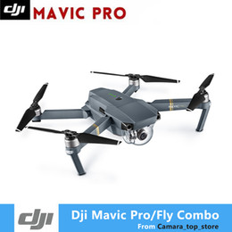 drone gps hd camera Canada - DJI Mavic Pro Fly Folding FPV Drone With 4K HD Camera OcuSync Live View GPS GLONASS System RC Quadcopter DHL Shipping