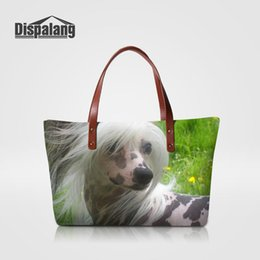 chinese ladies handbags NZ - High Quality Designer Handbags Women Travel Shoulder Bag Chinese Crested Dog Animal Prints Female Totes Bags Women-bag Ladies Shopping Bags