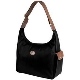Cheap Cotton Backpacks NZ - Pretty Cheap 2018 Womens Bag Paris Fashion Long Women's Handbag Folding Nylon Hobo Backpack Bag Medium Tote Bags Lagoon Curry Black
