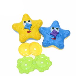 $enCountryForm.capitalKeyWord NZ - Baby Bath Shower Toys Electronic Float Rotate Float Rotate Swimming Pool Starfish Fountain Toddlers Bathroom Gift Water Toy