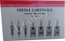 auto pen machine 2019 - Free Ship Needle Cartridge 1-42 pins   Nano type For Motorized Meso Machine MYM Derma Pen Auto Microneedling Electric De