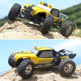 plastic trucks 2019 - New Hbx 12891 1  12 4wd 2 .4g Waterproof Hydraulic Damper Rc Desert Buggy Truck With Led Light Rc Car Toys discount plas