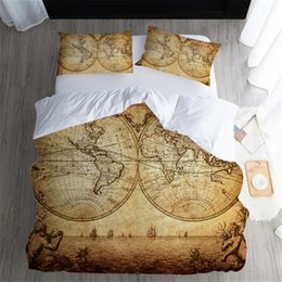 Vintage duvet cover cotton nz buy new vintage duvet cover cotton vintage duvet cover set dated old map of ancient world historic geography theme antique grungy design print 3 piece bedding set gumiabroncs Gallery