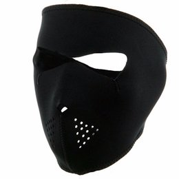 Wholesale Winter Exercise Mask Cycling Full Face Ski Mask Windproof Outdoor Bicycle Bike Running Black Hot Sale