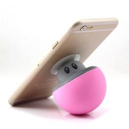 Sucker mini Speaker online shopping - 2018 Mushroom Bluetooth Speaker Car Speakers with Sucker Mini Portable Wireless Handsfree Subwoofer wireless speaker cute