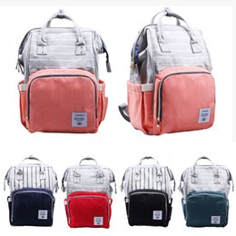 $enCountryForm.capitalKeyWord Canada - Fashion Large Capacity Nylon Baby Bag Travel Backpack Waterproof Nursing Bag for Baby Mom Backpack Women Carry Care Bags