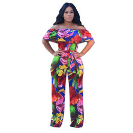 b5c07406e19c Summer women jumpsuits rompers sexy ladies long pants Explosion printing  strap bare back sling one-piece pants