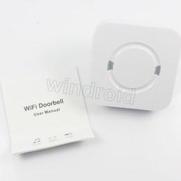 Discount wholesale doorbell chime - Wireless Doorbell Chime External Welcome Door bell ding-dong 55 ringtones output Waterproof Bell No battery EU US Plug 3