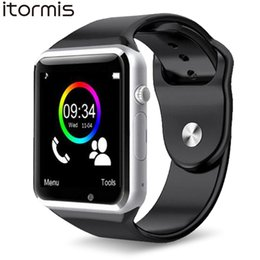 a1 smart watch 2019 - ITORMIS Smart Watches Smartwatch Clever Watch Phone Sport Fitness Pedometer Tracker A1 for Android PK DZ09 GT08 discount