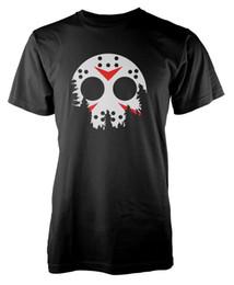 Black friday mask online shopping - Jason Moon Mask Killer Friday th inspired Adult T Shirt Print Short Sleeve Men Top Novelty T Shirts Men S Brand Clothing