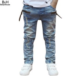 $enCountryForm.capitalKeyWord Australia - Winter Jeans Boys 2017 Newest High quality Ripped Winter Fashion Boys Pants Kids Trousers Baby Children Jeans 67