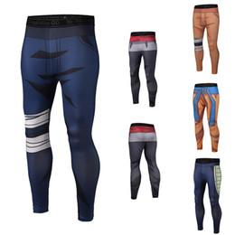 yoga pants brands 2019 - Student Mens Sport Pants Mens Joggers Pants 9 designs 3D Printing Naruto Dragon Ball Mens Yoga Pants LA691 cheap yoga pa