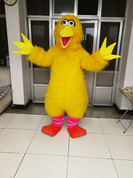 high quality Real Pictures Deluxe Big bird mascot costume Adult Size free shipping & Adult Mascot Big Bird Costume Australia | New Featured Adult Mascot ...