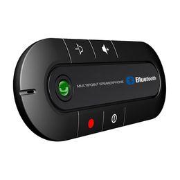 $enCountryForm.capitalKeyWord UK - Multipoint Bluetooth Car Kit Wireless Speakerphone Handsfree Headphone MP3 Music Player bt980 for SmartPhone IPhone Android phones