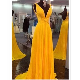 $enCountryForm.capitalKeyWord Australia - 2018 Orange Deep V-neck Evening Dresses Chiffon Sexy Backless Long Floor Length Real Photo Prom Party Gowns For Women Lady